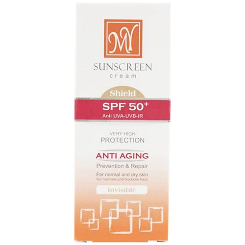 کرم ضد آفتاب وضد چروک SPF50بی رنگ مای