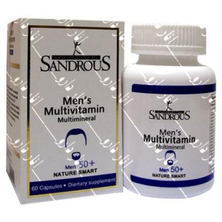 مولتی ویتامین مینرال آقایان بالای ۵۰ سال