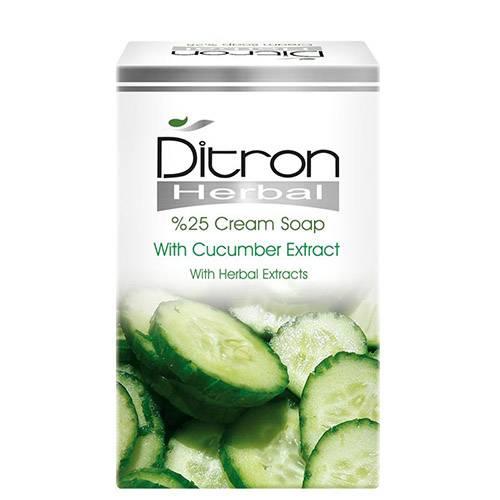 صابون کرم دار ۲۵% و عصاره خیار دیترون