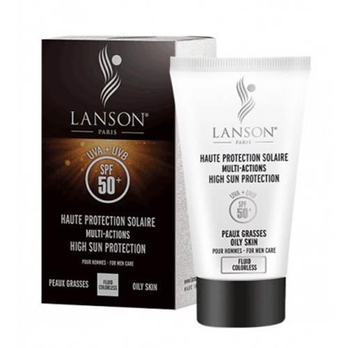 کرم ضد آفتاب آقایان SPF 50 مناسب پوست مختلط تا چرب لانسون