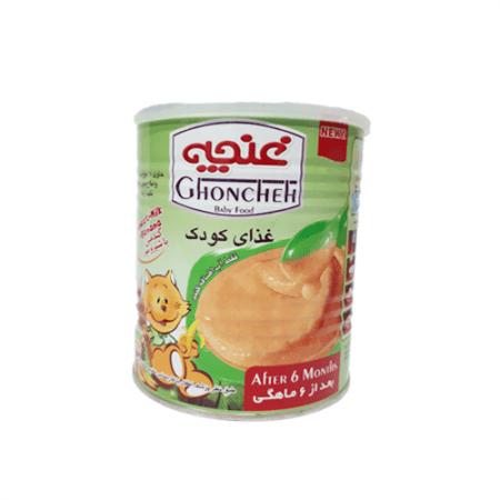 غذای کودک گندمین با شیر و موز غنچه ۴۰۰ گرمی