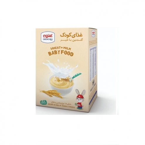 غذای کودک گندمین با شیر غنچه