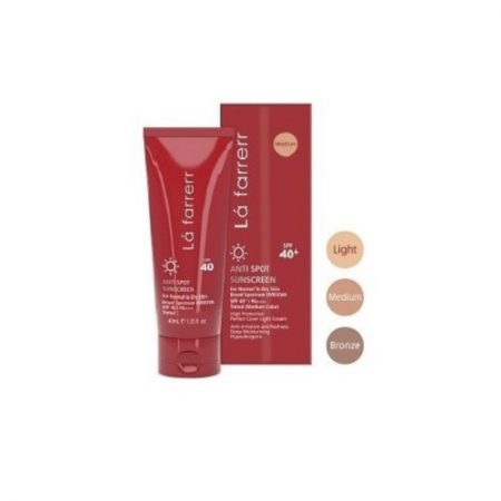 کرم ضد آفتاب و ضد لک رنگی لافارر ( پوست های خشک)