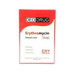 صابون اریترومایسین دئودراگ