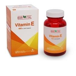 کسپول ویتامین E باریویتال (400 واحد)