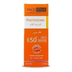 کرم ضد آفتاب فاقد چربی فیس دوکس (SPF50)