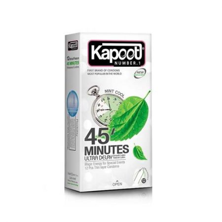 کاندوم تاخیری ۴۵ دقیقه ای کاپوت
