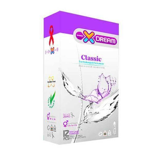 کاندوم ایکس دریم مدل Classic بسته 12 عددی