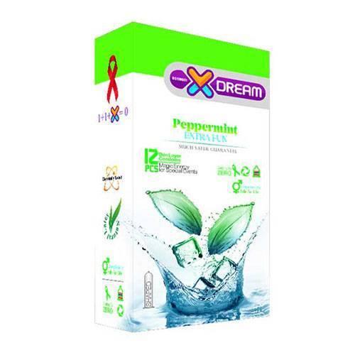 کاندوم ایکس دریم مدل Peppermint بسته 12 عددی
