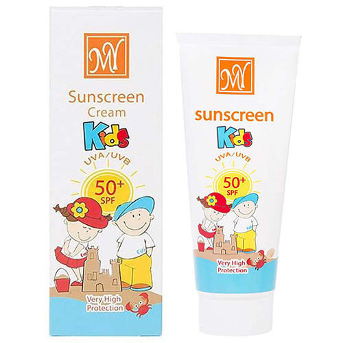 کرم ضد آفتاب کودکان spf50 مای