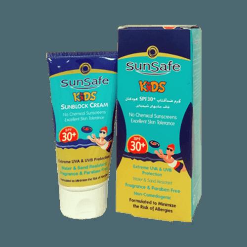 کرم ضد آفتاب کودکان SPF30 سان سیف