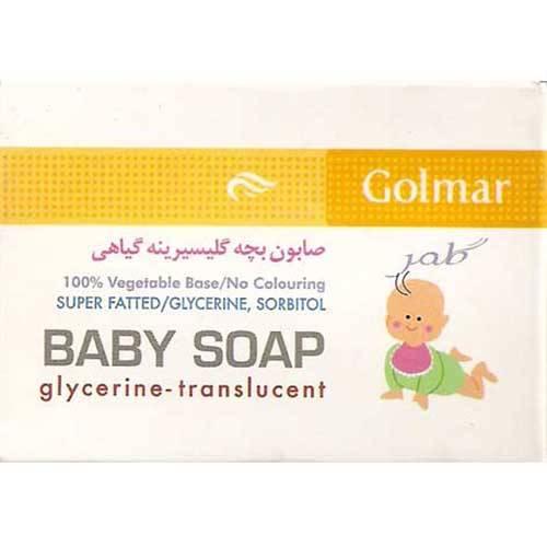 صابون بچه گلیسیرینه گیاهی گلمر