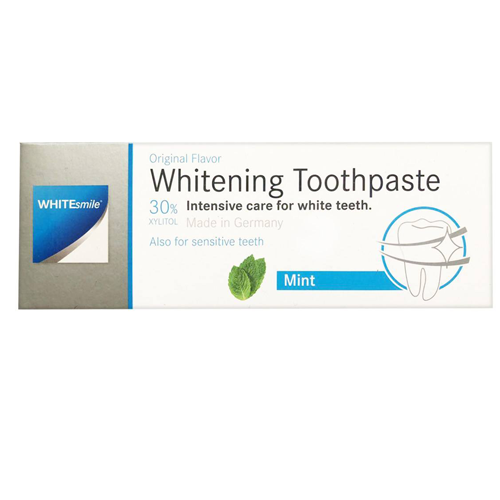 خمیر دندان سفید کننده نعنایی وایت اسمایل