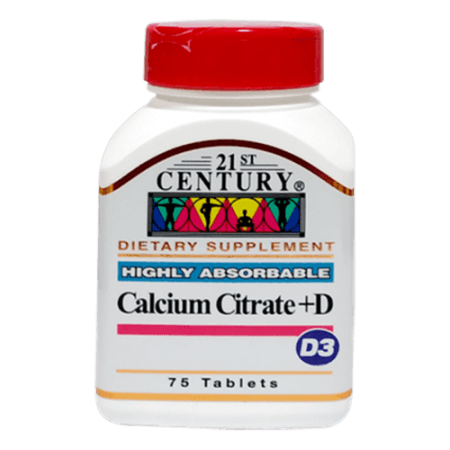 کلسیم سیترات و ویتامین دی 75 عددی سنتری