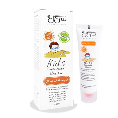 کرم ضد آفتاب کودک سی گل با SPF 30