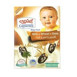 غذای کودک گندمین با شیر و خرما غنچه