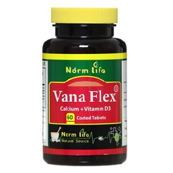 قرص وانا فلکس نورم لایف (کلسیم و ویتامین D3)