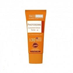 کرم ضد آفتاب رنگی پوست خشک فیس دوکس (SPF30)
