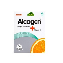 کپسول آلکوژن با ویتامین C آلفا