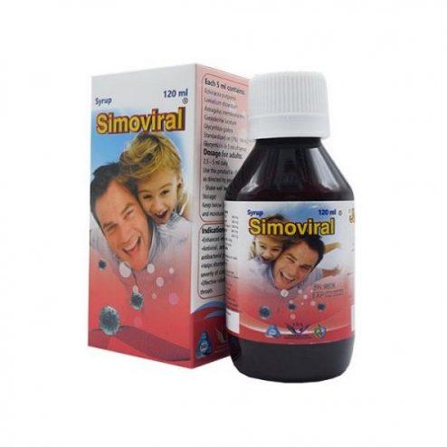 شربت سیموویرال سیمرغ دارو